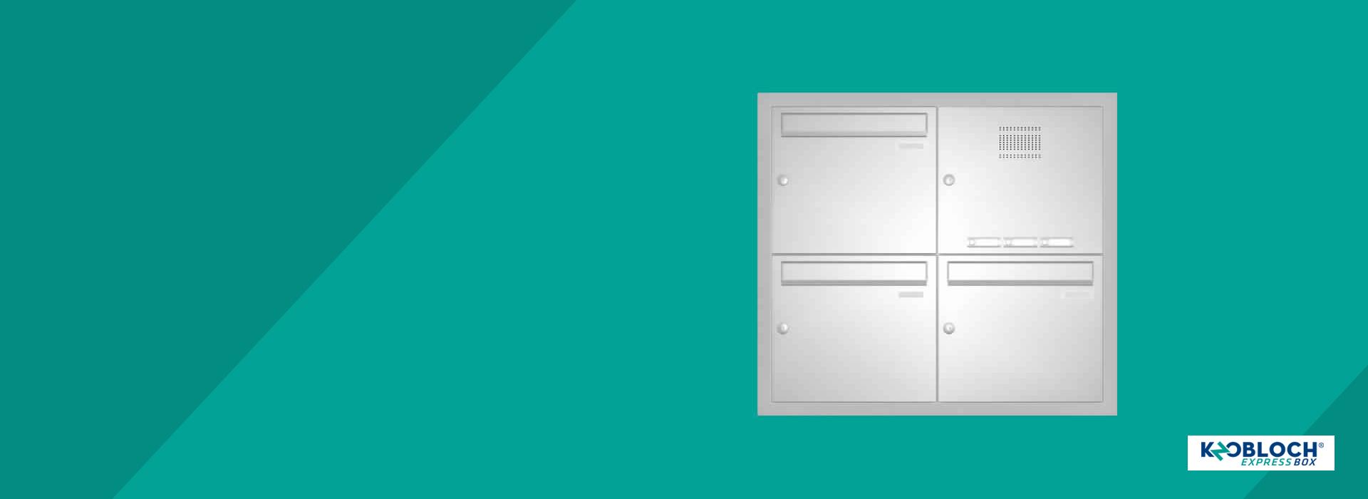 Schnell Schneller EXPRESS BOX Briefkastenanlagen